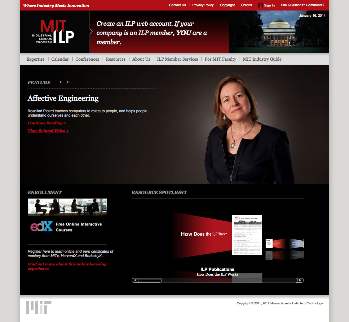 ILP home page