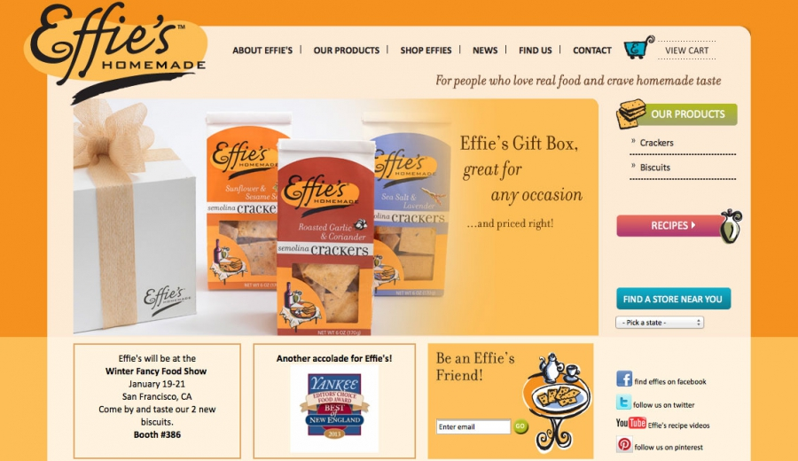 effies home page